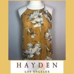 Hayden Sweet as Honey Halter Tank Top